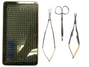 Castroviejo Suture Set